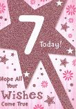 Girl Age 7 - Sparkle Star
