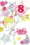Girl age 8 Girl Balloons