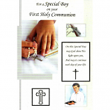 Special Boy First Communion - Rosary Beads