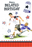 Belated Birthday - Football