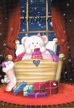 Nanna Xmas - White / Bear