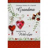 Grandma Xmas - 2 Hearts
