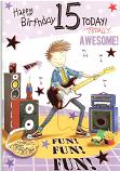 Boy Age 15 Guitar