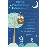 Grandson 1st Birthday - Owl