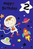 Boy Age 2 - Space