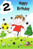 Boy Age 2 - Boy Football