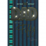 Dad 50th Birthday - Fifty Today