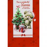 Nannie Xmas - Bear/Tree