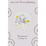 Mummy Birthday - White Bear