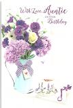 Auntie Birthday Vaseof Flowers