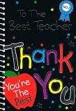 Thank You Teacher - No.1 Badge