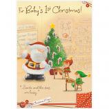 Babys 1st Xmas - Santa/Elves