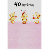 40th Birthday - F 3 Bears