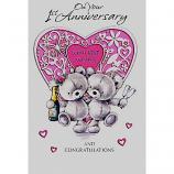 1st Anniversary - Bears/Heart