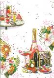 Blank Card Female Champagne