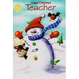 Teacher Xmas - Snowman