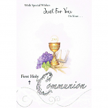 First Communion - Chalice/Grapes