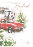 Husband Xmas Large - Red Car
