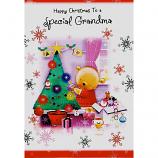 Grandma Xmas - Bear/Tree