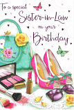 Sister-in-law Birthday Large - Shoes & Bag