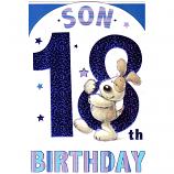Son 18th Birthday - Cute Dog