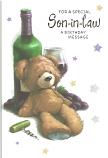 Son-in-Law Birthday Bear/Wine
