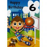 Boy Age 6 - Basketball