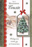 Cousin Christmas - Xmas Tree Tag