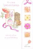 Nanna Birthday - Book Mark