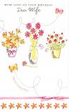 Wife Birthday - 3 Vases