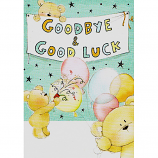 Goodbye & Good Luck - Bears/Balloons