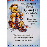 Father's Day Great-Grandad - Bear/Tie