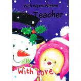 Teacher Xmas - Snowman/Bear