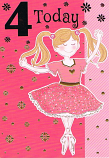 Girl Age 4 - Dancer