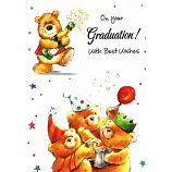 Graduation - Bear/Champagne