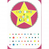 Goodbye & Good Luck - Star/Circle