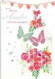 Auntie Birthday Butterflys