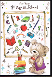 First Day at  School - Brown Bear